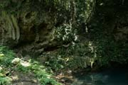 Cenote Blue Hole.